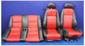 2003 2004 Ford Mustang Cobra Svt Terminator 10th Anniversary Convertible Seats