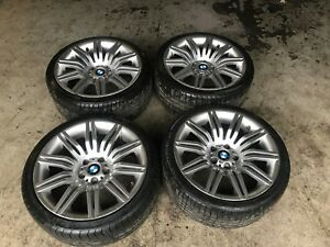Bmw Oem E60 550i Set Factory M Sport Staggered 19 Wheels Rim Tires Style 172