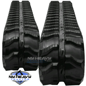 Two Rubber Tracks For Bobcat Mt52 180x72x39 Free Shipping
