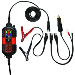 Automatic Battery Charger Maintainer 12v 6v Motorcycle Car Float Trickle Tender