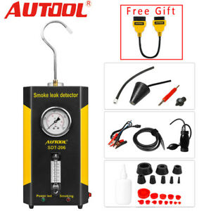 Autool Sdt 206 Smoke Leak Detector Evap Pipe All System Diagnostic Tester Tool