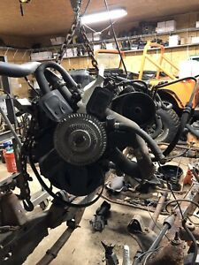 Jeep Wrangler Yj Tj Engine 2 5 4 Cyl Motor Good Engine Runs 120k 2 5l Cylinder