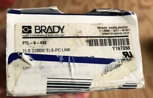 Brady Ptl 8 432 Tls 2200 tls Pc Link Labels