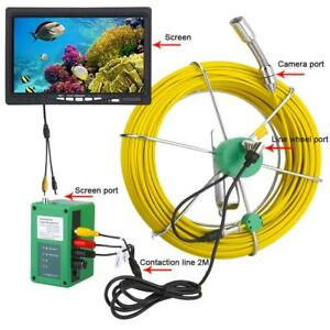 Dvr Pipe Inspection Video Camera 30m 1000tvl Ip68 Sewer Inspection Camera System