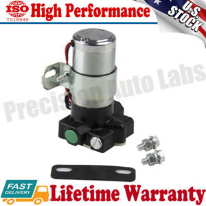 High Performance Electric Fuel Pump 95 Gph 7 Psi 3 8 Npt Inlet outlet 12v Us