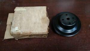 Nos Gm 69 70 Chevy Camaro Chevelle Pass Nova Fan Water Pump 2 Groove Pulley