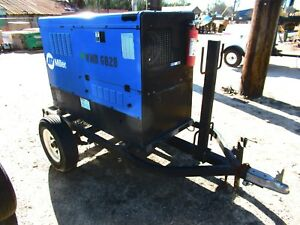 2014 Miller Big Blue 700 Duo Pro Diesel Welder
