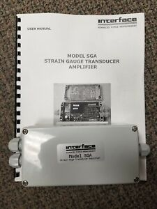Interface Model Sga a Strain Gage Transducer Amplifier
