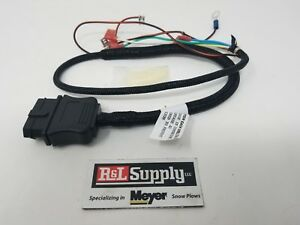 Fisher And Western 3 Pin Plow Side Control Wire Harness 26359