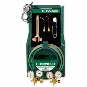 Welding Equipment Accessories Goss Ka 125 b Series Oxy acetylene Brazing Kit
