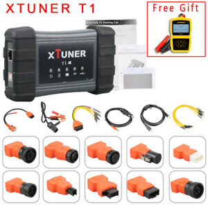 Xtuner T1 Obd2 Heavy Duty Hd Diesel Trucks Moduel Auto Diagnostic Scanner Tool