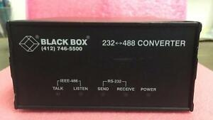 Black Box Model Ic026a Rs 232 To Ieee 488 Interface Converter