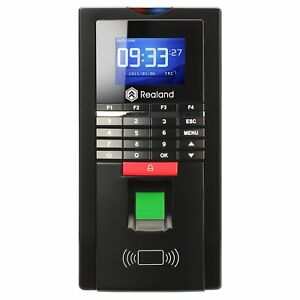 Realand Mf131 Door Control Time Attendance Biometric Fingerprint card password