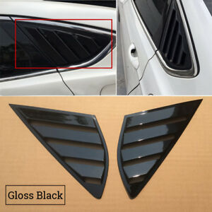 Louvers Window Side For Ford Fusion Mondeo 4d Vent Latest Durable Accessories