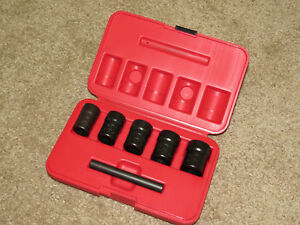Mac Tools Svt5lr 5 Pc 1 2 Dr Twist Socket Set 3 4 13 16 7 8 15 16