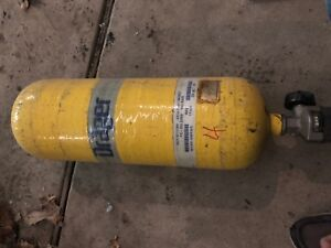 Drager Draeger 2216 Psi Scba Air All Aluminum Tank