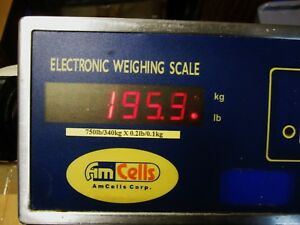 Amcells Digital Doctor parcel Scale Model Wws 750 o To 750 Pounds