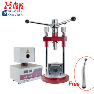 Dental Leb Flexible Denture Injection System Unit separate Manual Press