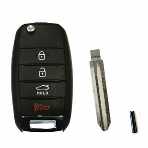 Keyless Entry Folding Key Remote Control For Oem Parts 2014 Forte K3 Koup