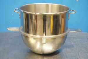New Hobart 30 Qt Stainless Steel Mixer Bowl With Reduction Kit Original Part