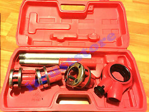 Ratcheting Pipe Die Thread Maker Threader Tool Ratchet Threading Plumbing Kit