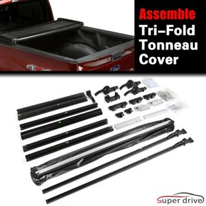 Soft Assembly Tri Fold Tonneau Cover For 1994 2001 Dodge Ram 1500 6 5ft 78in Bed