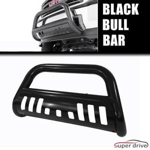 W Skid Plate 3 Bull Bar Guard For 2006 2008 Dodge Ram 1500 Black