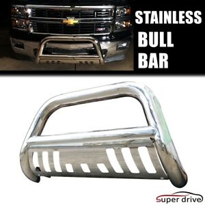 Stainless 3 Inch Bull Bar For 1994 2001 Dodge Ram 1500 W Skid Plate