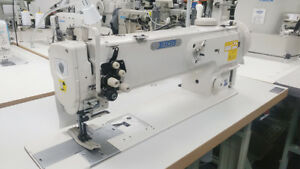 Thor Gc1560l 18 Double Needle 18 Long Arm Walking Foot Sewing Machine New