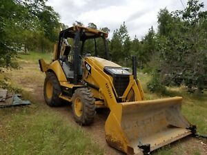 2014 Caterpillar 416f 4wd Backhoe Wheel Loader Tractor 4x4