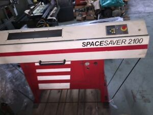Smw Space Saver 2100 Electric Bar Feeder For Cnc Lathes Mid 90s Unit Used