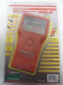 Triplett 3260 Wiremaster Xr 5 5 Cable Tester New In Package