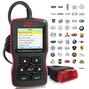 Obdscar Os601 Eobd Obd2 Scanner Automotive Engine Fault Code Reader Can Scan