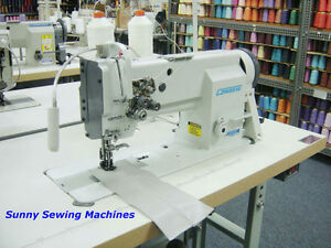 Consew P2339rb Fully Assembled Double Needle Walking Foot Sewing Machine 1 4