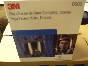 3m Full Facepiece Reusable Respirator Model 6900 Size Large