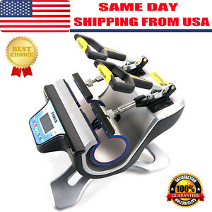 Us Freesub Automatic Double Mug Heat Press St 210 Sublimation Transfer Printing
