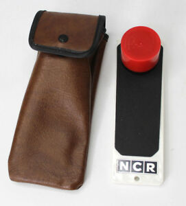 Portable Hand held Microfiche Reader Viewer Ncr 456 113 W Scovill Case