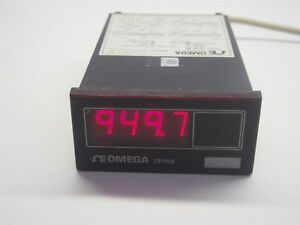 Omega Dp460 Temperature Meter