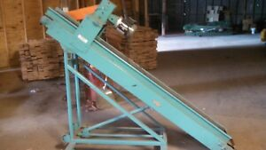 Hytrol Incline Chip Conveyor 8 Belt