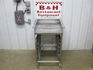 Bk Industries Stainless Steel Fryer Dump Station Landing Table Lts Bki