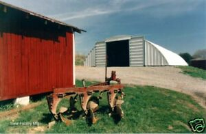 Steel Q40x60x15 Metal Arch Quonset Agricultural Maintenance Building Material