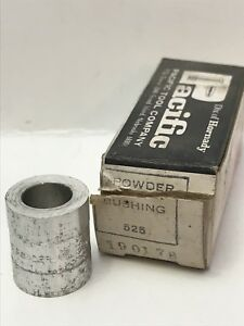 Pacific Tool Powder Bushing 525 Vintage Reloading Accessory Hornady USA 190178