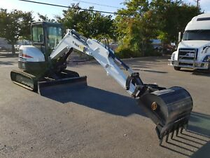 2017 Bobcat E45 Compact Excavator In Mint Condition