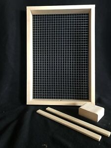 8 Frame Candy Board For Winter Bee Feeding