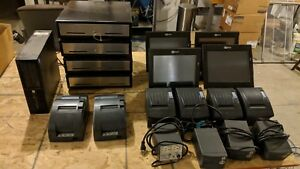 Ncr Aloha Point Of Sale 4 Terminals 4 Printers 2 Cash Drawers 2 Kitchen Printers