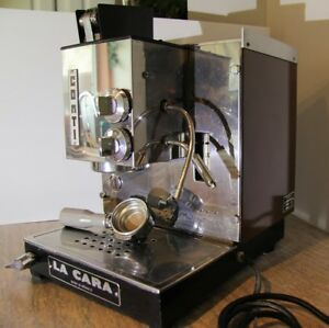 Rare Commercial La Cara By Conti Espresso Maker Lever Espresso Coffee Machine
