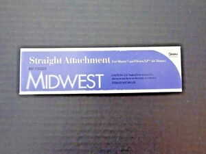 Midwest Straight Attachment Nose Cone Dentsply Professional New
