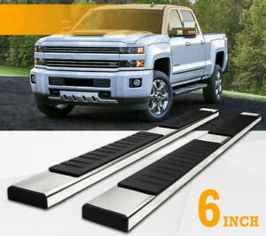 Fit 2019 2020 Dodge Ram 1500 Crew Cab 6 Side Step Running Board Nerf Bar S s H