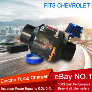 For Chevrolet Supercharger Turbo Charger Kit Electric Universal Turbocharger 12v