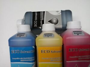 Pro Grade Eco Solvent Ink For Epson Dx 4 5 7 Roland Mimaki Mutoh Printers